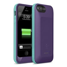 Grip Power Battery Case for iPhone 5 and iPhone 5s
