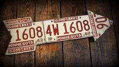 Repurposed License Plates