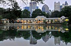 Piedmont Park Conservatory - Atlanta, GA. Beautiful place to have a wedding in the city.