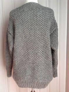 """Lises hjertgleder: """"Michael Kors"""" genser i perlestrikk . Knitwear, Michael Kors, Pullover, Wool, Knitting, Pattern, Sweaters, Clothes, Fashion"""