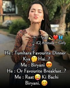 Attitude Thoughts, Attitude Quotes For Girls, Girl Attitude, Attitude Status, Funny Girl Quotes, Girly Quotes, Me Quotes, Hindi Quotes, Teddy Day Wallpapers