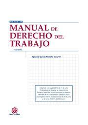 Manual de derecho del trabajo / Ignacio García-Perrote Escartin.. -- 5ª ed.. -- Valencia : Tirant lo Blanch, 2015.