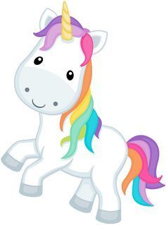 Image result for rainbow unicorn clipart