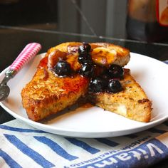 Enjoyed! Cannella Vita: olive oil french toast, great served with blueberry syrup (homemade)