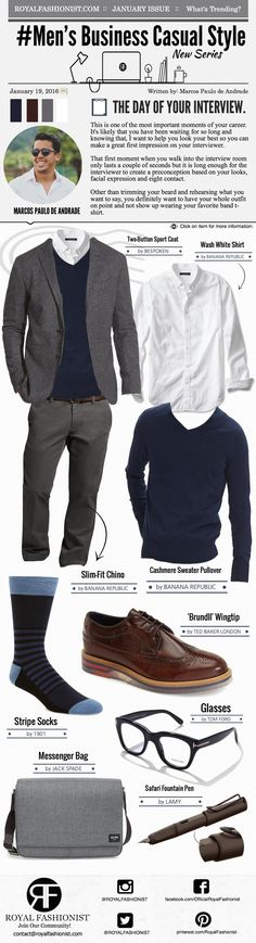 Men's #Business #Casual