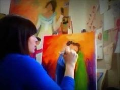 Karrie Evenson - Karrie On Canvas- How to paint people