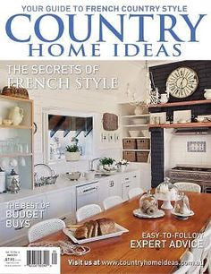 Bon Vol 13: No 1 | Country Home Ideas | The Country Lifestyle Magazine | Covers  | Pinterest | Country Lifestyle