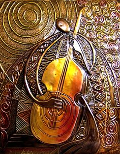 Bass (Copper Relief)