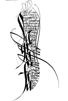 ✍ Sensual Calligraphy Scripts ✍ initials, typography styles and calligraphic art - Cláudio Gil