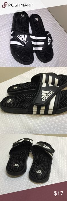 Adidas Slide Ons - Size is Mens 6 - like new condition. Worn only couple times. Adidas Shoes Sandals