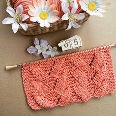 Abanicos con algodón Pima salmón de weareknitters ¡A Tejer!  #knit #knitting #knittingisthenewyoga #instaknit #wool #tejer #tejermola #handknitted #handmade #diy #yesweknit #wak #weareknitters #iknit #cotton #algodon