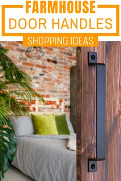 This high quality steel black barn door handle can be used for doors, gates, garages, barns, sheds, closets, sliding doors – both exterior and interior.   Its design allows it to be used as a luxury, high end addition to your interior home décor as well as to enhance the rustic charm of your massive barn door, gate, shed or garage Gate Handles, Barn Door Handles, Door Pull Handles, Barn Door Hardware, Door Handle Sets, Garage Shed, Black Barn, Barns Sheds, Door Gate