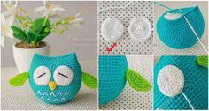 Sleeping Owls – Free Amig Pattern