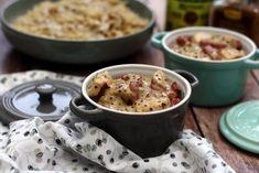 J'aime beaucoup cuisiner au cidre, surtout la volaille, et je vous promet que ces petites cocottes de poulet et bacon au cidre et moutarde à l'ancienne étaient vraiment délicieuses! Comme généralement ici, c'est vraiment facile et rapide à faire, ça conviendra...