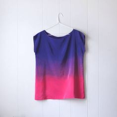xsilk 'Ode To Rothko' Silk Top, $99, now featured on Fab. Handmade in Brooklyn.