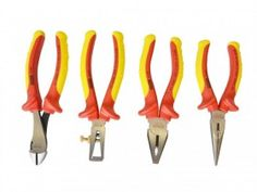 Stanley FatMax VDE Insulated Plier Set 4 Piece