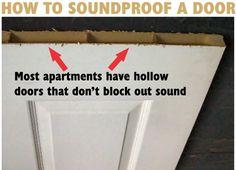 How To Soundproof A Bedroom Door – Do It Yourself
