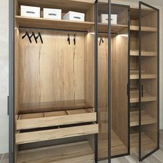 Here are 8 ways to maximize the space in a small bedroom. Wardrobe Design Bedroom, Luxury Bedroom Design, Bedroom Wardrobe, Home Room Design, Wardrobe Door Designs, Closet Designs, Walk In Closet Design, Dressing Room Design, Bedroom Cupboards