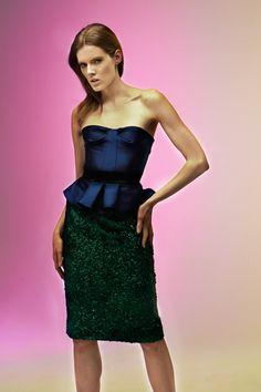 Burberry. #Saks #fashion #style #peplum