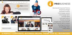 PROBusiness - Multi Purpose Corporate Drupal Theme