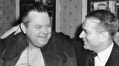 Orson Welles and Sir Laurence Olivier