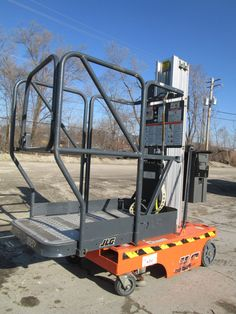 JLG 12SP Stock Picker Personnel Manlift Aerial Lift Scissor Lift Compact | eBay