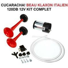 KLAXON TOUR DE FRANCE CUCARACHA! KLAXON ITALIEN 2 TROMPES