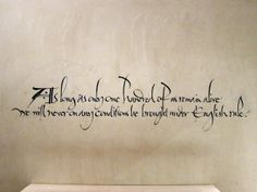 """""""As long as only one hundred of us remain alive we will never on any conditions be brought under English rule."""" #typography #calligraphy"""