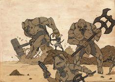 Warframe+Rhino+Mech+Charge+by+LordKomodo.deviantart.com+on+@DeviantArt