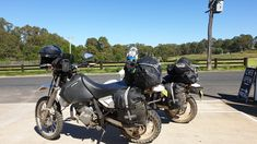 Packed for another camping trip Motorcycle, Camping, Bike, Vehicles, Campsite, Bicycle, Motorcycles, Bicycles, Cars