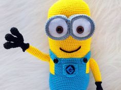 Amigurumi Minion Tarifi : Minion free crochet pattern collection all the best ideas crochet