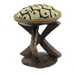 Ardmore Ceramics Batonka Stools: Batonka Stool in Croco Lime Light Stools, Ethnic, Lime, Africa, Decor Ideas, Ceramics, Stuff To Buy, Furniture, Collection