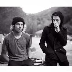 Curren Caples and Ben Nordberg