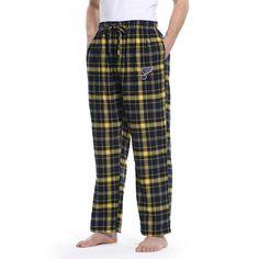 Men's St. Louis Blues Ultimate Flannel Pants, Size: Small, Blue (Navy)