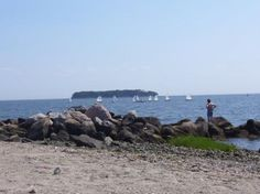 Charles Island, Milford - off Fort Trumbull Beach - walked here many times at low tide on the sandbar