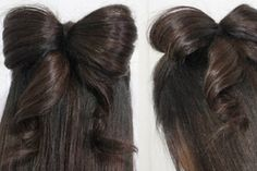 hair bow hairstyle