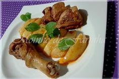 Moinho De Farinha: Frango com batatas salteadas