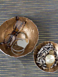 Mod Podge Paper Bowls