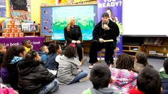 WWE.com: Brodus Clay and Natalya take part in WrestleMania Reading Challenge in Houston: photos #WWE