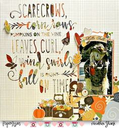 Paper Issues: Product Spotlight: Simple Stories Hello Fall @hls1974