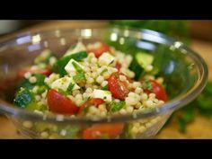 Israeli Couscous Summer Salad f/ LA Times Food Columist Russ Parsons - YouTube