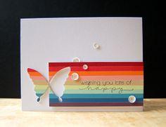 My Paper Secret: Happy Butterfly