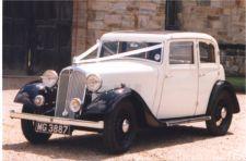 Wedding car hire in Kent, AJM Vintage Car Hire