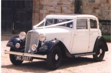 Wedding car hire in Kent, AJM Vintage Car Hire