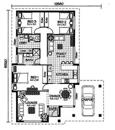 The Moreton Australian House Plans House Plans Pinterest
