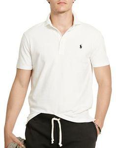 Polo Ralph Lauren Featherweight Polo Shirt Men's White Small
