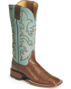 Justin Remuda Ostrich Cowgirl Boots