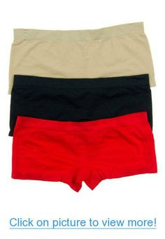 Cotton Cantina 3 Pack Seamless Boy Short Panties Boy Shorts, Trunks, Boys, Sexy, Swimwear, Cotton, Fashion, Stems, Baby Boys