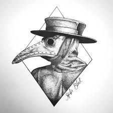 Image result for plague doctor art
