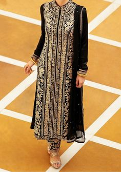 Jodha Kimora Royal Princess Sherwani Style Straight Suit